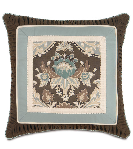 Image of Kira Border Collage Pillow