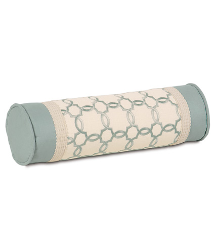 Image of Verlaine Ocean Neckroll Pillow