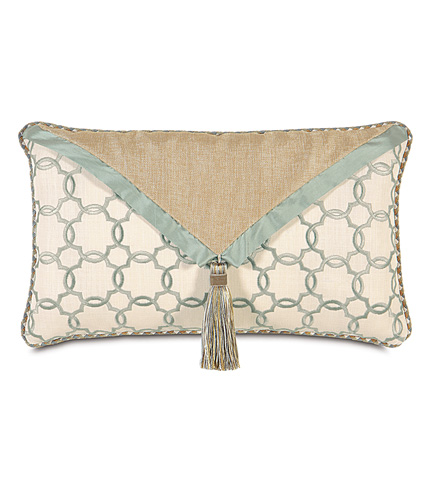 Eastern Accents - Verlaine Ocean Envelope Pillow - KNE-04