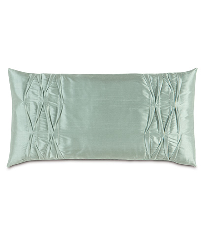 Image of Serico Ocean Pillow with Pintucks