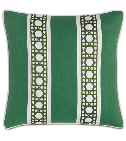 Image of Breeze Kelly Pillow with Border