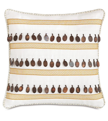 Eastern Accents - Baldwin White Inserts Pillow - LAN-12