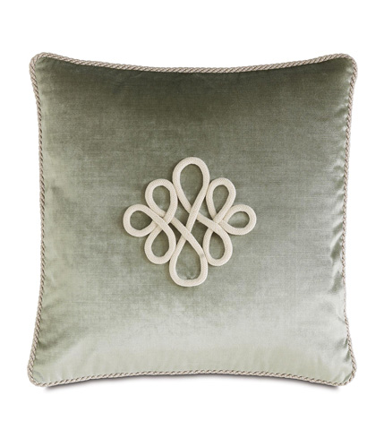 Image of Velda Spa Pillow with Scroll