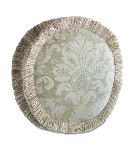 Image of Lourde Celadon Tambourine Pillow