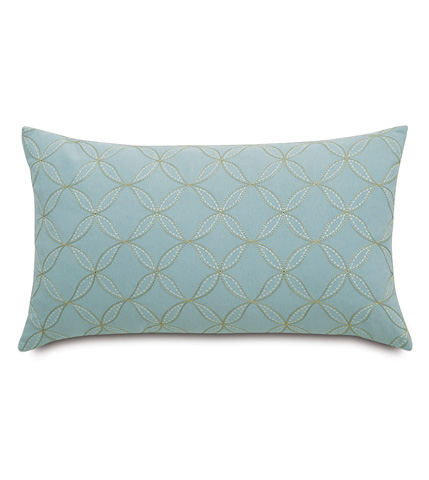 Eastern Accents - Latcherie Sky Knife Edge Pillow - MAG-06