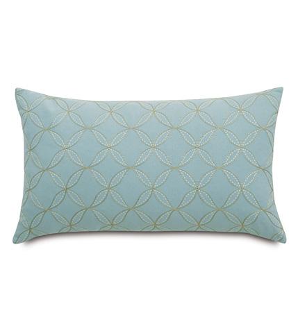 Image of Latcherie Sky Knife Edge Pillow