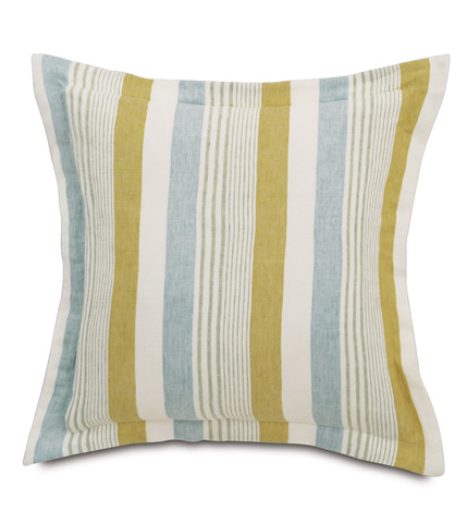 Image of Truvy Pond Pillow with Flange