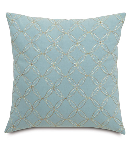 Eastern Accents - Latcherie Sky Knife Edge Pillow - MAG-08