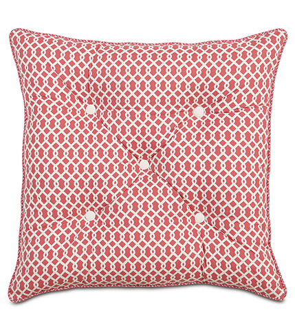 Image of Pirouette Pink Tufted Pillow