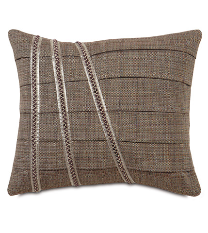 Image of Farrow Dusk Pillow with Pleats