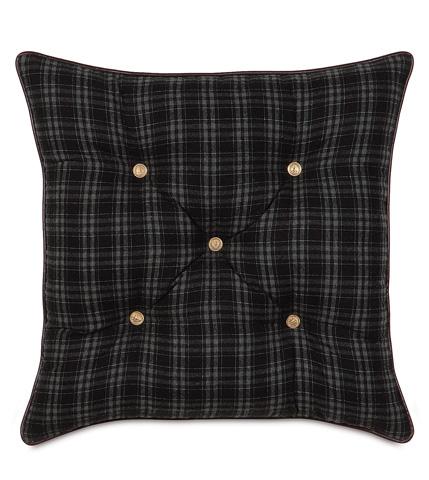 Image of Grainger Ink Tufted Pillow