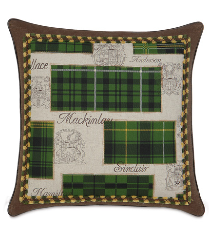 Eastern Accents - Maccallum Bordered Pillow - MCL-03