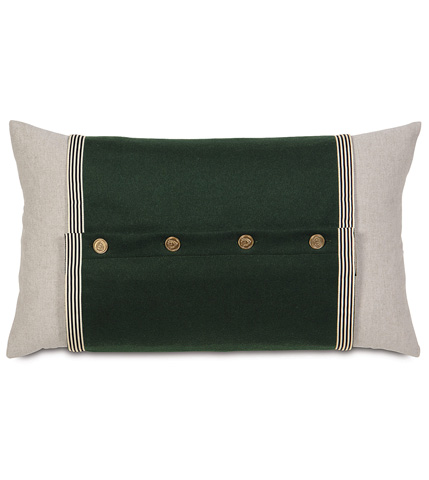 Eastern Accents - Greer Linen Pillow with Cuff - MCL-06
