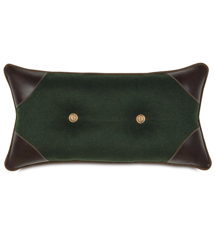 Image of Gable Pine Tufted Pillow