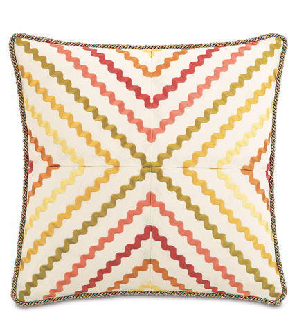 Image of Mambo Fiesta Pillow with Cord