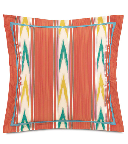Image of Nosara Sunset Pillow with Flange