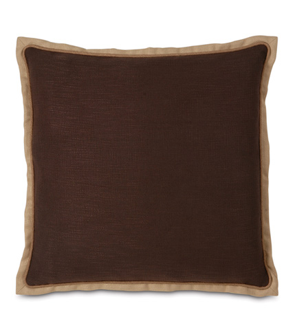 Image of Haberdash Chestnut Euro Sham