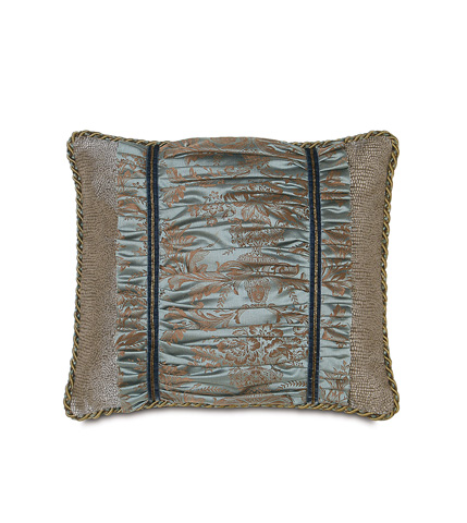 Image of Foscari Ruched Insert Pillow