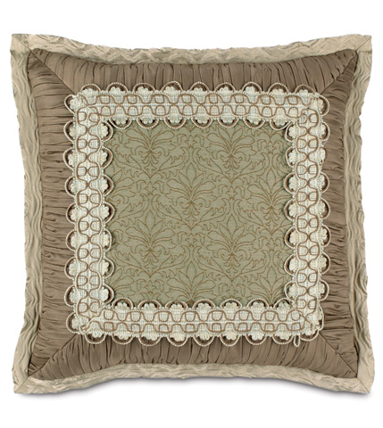 Image of Laurent Spa Mitered Pillow