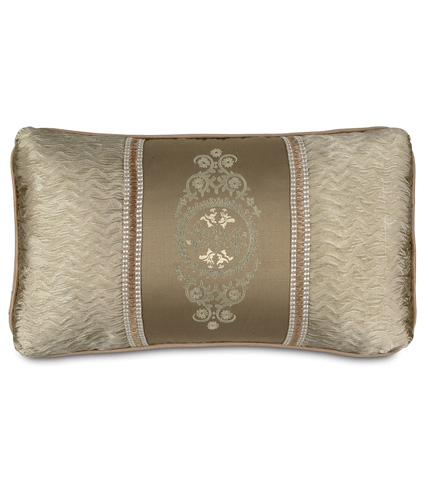 Eastern Accents - Embroidered Insert Marbella Pillow - MRB-04