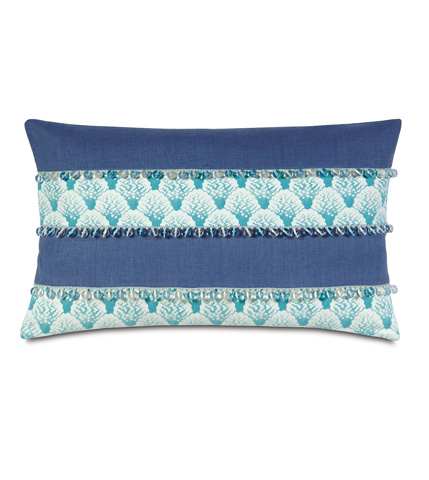 Eastern Accents - Koopa Teal Inserts Pillow - OLY-06