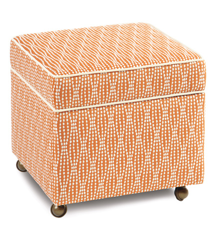 Image of Holmes Mandarin Storage Boxed Ottoman