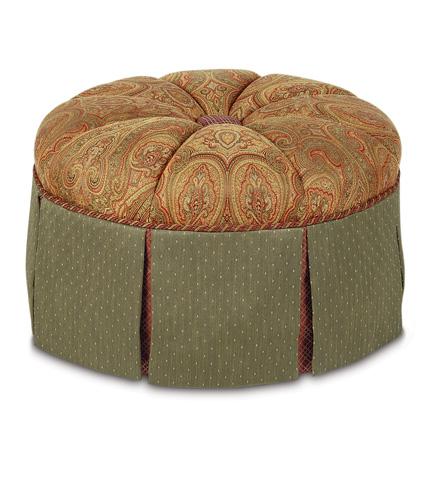 Image of Glenwood Round Ottoman