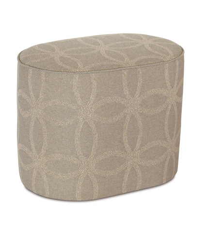 Image of Silas Oval Ottoman