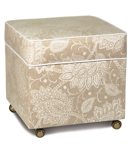 Image of Aileen Storage Boxed Ottoman