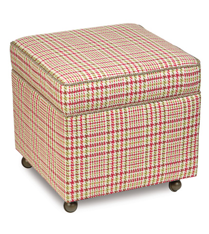 Image of Blight Rose Storage Boxed Ottoman