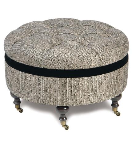 Image of Abernathy Round Ottoman