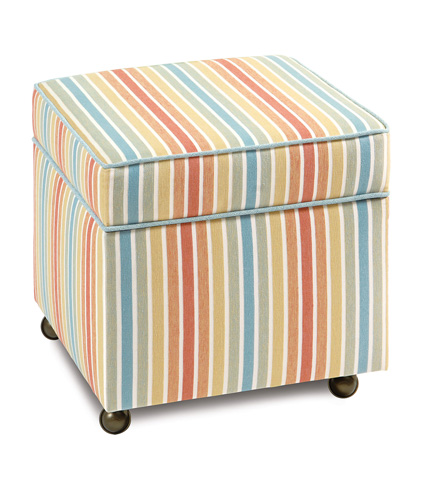 Image of Paradise Sunrise Storage Boxed Ottoman