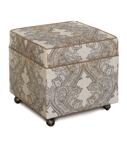 Image of Aiden Oat Storage Box Ottoman