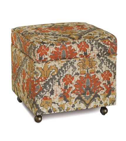 Eastern Accents - Douglas Camel Storage Boxed Ottoman - OTD-361-K
