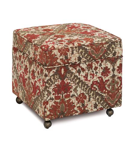 Image of Douglas Paprika Storage Boxed Ottoman