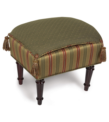 Image of Quentin Olive Pillow Top Stool