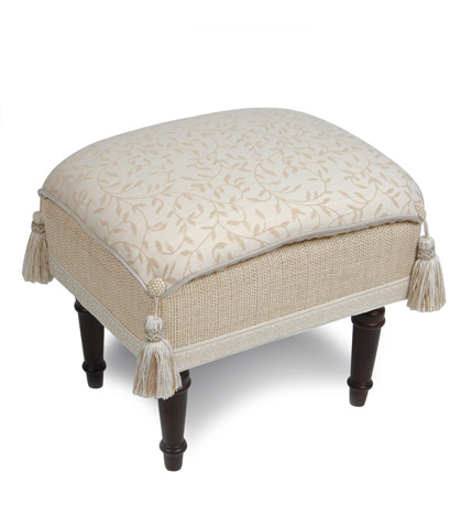 Image of Hayes Blossom Pillow Top Stool