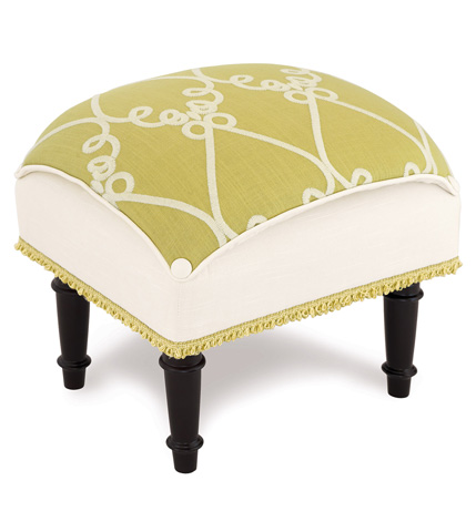 Eastern Accents - Etta Lime Pillow Top Stool - OTP-357