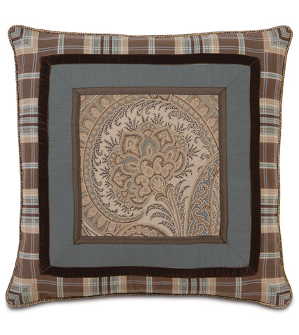 Image of Powell Border Collage Pillow