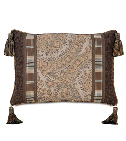 Image of Powell Insert Pillow with Cord and Tassels