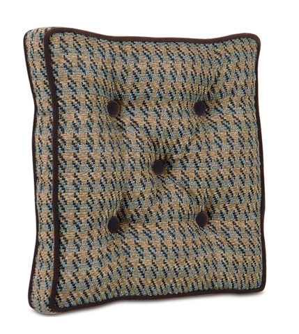 Eastern Accents - Garret Stone Boxed and Tufted Pillow - POW-09