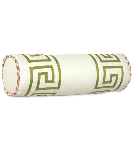Image of Filly White Neckroll Pillow