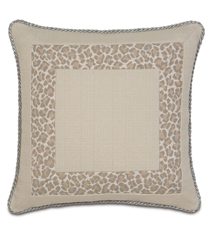 Image of Vivo Bisque Border Collage Pillow