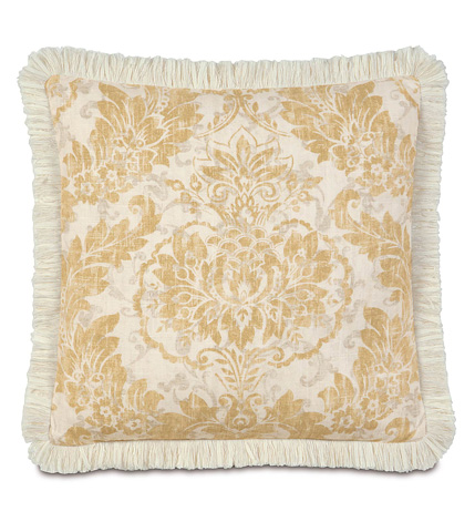 Image of Sabelle Pillow with Brush Fringe