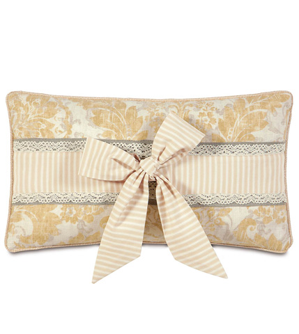 Image of Sabelle Pillow with Bow