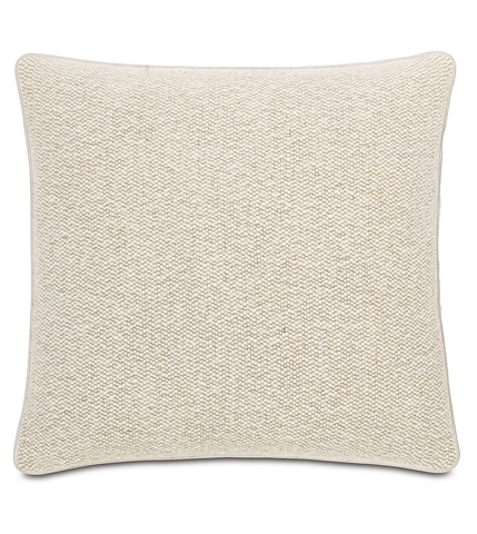 Image of Corfis Vanilla Pillow with Small Welt