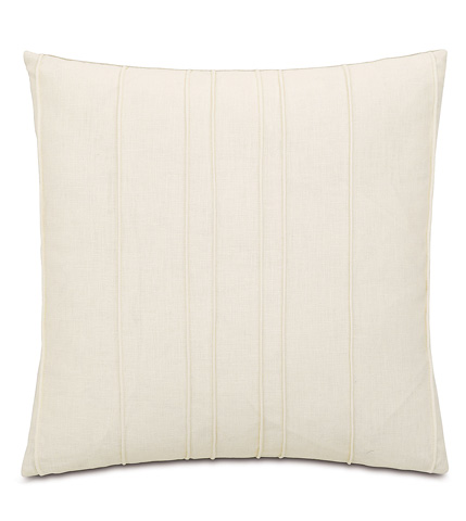Image of Breeze Pearl Pillow with Mini Welt