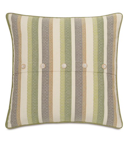 Image of Sago Grass Pillow with Buttons