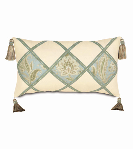 Eastern Accents - Southport Diamond Collage Pillow - STH-06