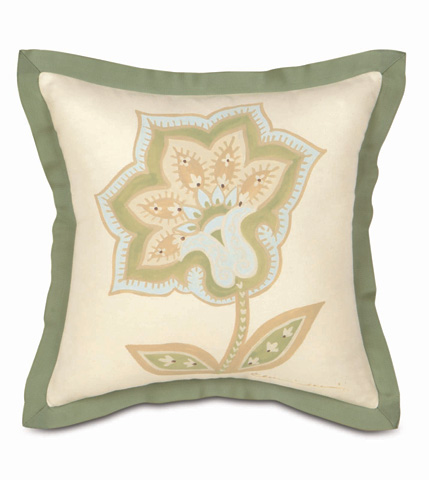 Image of Hand-Painted Southport Pillow